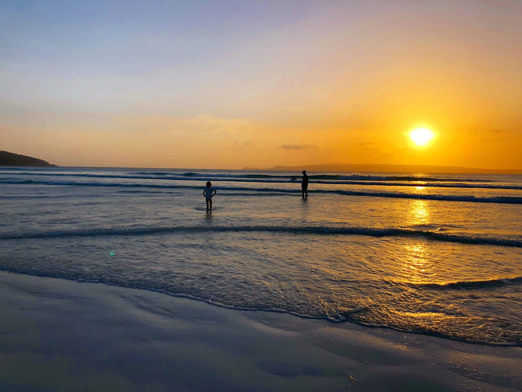 Sunset at Blossoms Beach, Bremer Bay